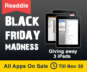 Readdle Black Friday Madness Sale