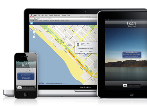 Find My iPhone with Mac iPhone & iPad