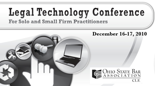 Ohio State Bar Association Legal Technology Conference Mac Track