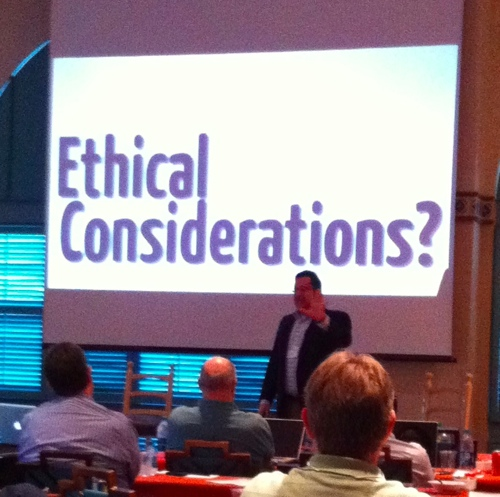 Randy Juip MILOfest 2011 Ethical Considerations for the Cloud
